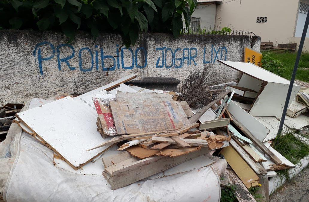 Morador de Balneário Camboriú terá como descartar entulho