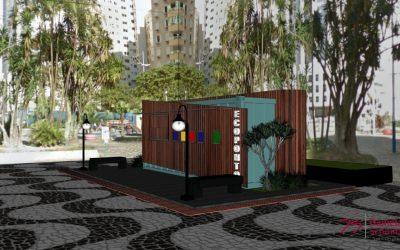 Balneário Camboriú está implantando ecopontos para incentivar a reciclagem